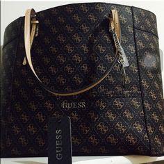 Weekend sale Guess tote bag Brown large tote bag Guess Bags Totes