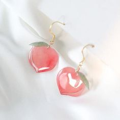 Best selection of fruit earrings in summer accessory, jewelry, fashion, earring, summer Cute Jewelry, Jewelry Accessories, Unique Jewelry, Piercing Ring, Piercings, Cute Fruit, Cute School Supplies, Cute Rings, Resin Crafts