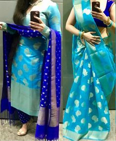 RadhikAnurag ❤️ Kaftan Designs, Silk Kurti Designs, Churidar Designs, Kurta Designs Women, Dress Neck Designs, Kurti Designs Party Wear, Designs For Dresses, Lehenga Designs, Blouse Designs