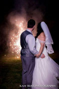 #Firework fountain #wedding