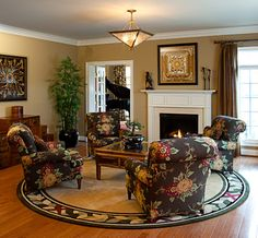 Living Rooms - traditional - living room - dc metro - Details Interiors, LLC