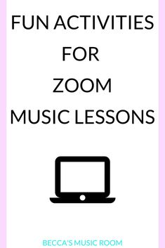 Fun Zoom Music Lessons for Distance Learning - Becca's Music Room