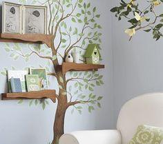 手作り木の本棚画像