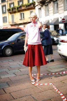 Milan Fashion Week #streetstyle #mfw #sockhop