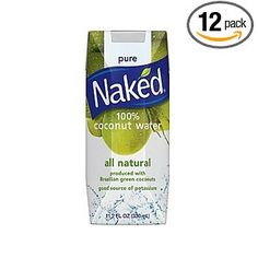 """Coconut Water- Natural Electrolyte Replacement Fluid. Use this INSTEAD of the """"fake health food"""", additive laiden, sugar or aspartame filled Gatorade or Pedialyte. So excited I discovered this."""