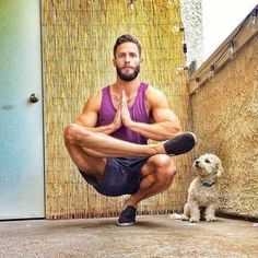 Shirtless Guys Doing Yoga | POPSUGAR Fitness