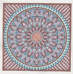 More Mystical Mandalas 019 with Faber Castell Pitt pens