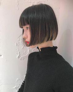 18 Bob Hairstyles for Fine Hair - Long Bob Hairstyles 2019 Pelo Midi, Bob Hairstyles For Fine Hair, Lob Haircut, Japanese Hairstyle, Shiny Hair, Brown Hair Colors, Hair Looks, Hair Trends, Short Hair Styles