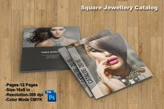 Jewellery Catalog Template  Product Display by TemplateStock