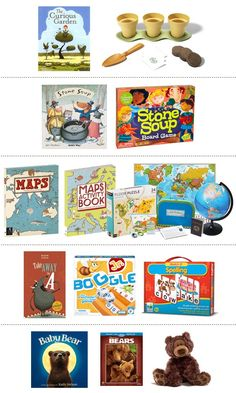 Add Ons for Book Themed Gifts Baby Books, Children's Books, Good Books, Map Activities, Kids Activity Books, Puzzle Books, Party Ideas, Gift Ideas, Having A Baby