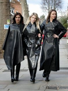 Why two when you can have three Latex Ladies