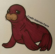If there's one thing you should know about me is that I love walruses, especially baby ones. Me and my Dad call them wiskas. I like to think of myself as a baby walrus if I had to pick a spirit animal. Baby Walrus, Think Of Me, Spirit Animal, Scooby Doo, Dads, Animals, Fictional Characters, Animales, Animaux