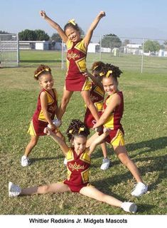 Thigh Stand Stunt.... Their so cute!