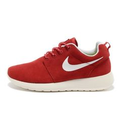 huge selection of 3fe4c 85cb1 2013 Womens Nike Roshe One Low Anti Fur Waterproof Running Shoes Red White, Nike-Nike Roshe One Shoes Sale Online