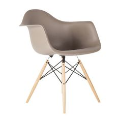 dCOR design The Mid Century Wood Eiffel Arm Chair & Reviews | Wayfair