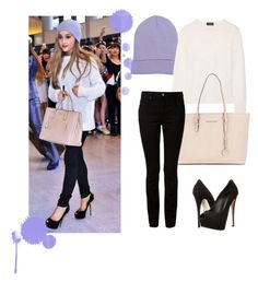 """Ariana Grande."" by marie-detaille on Polyvore"