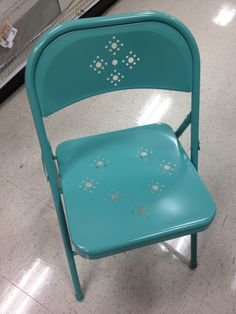 love this chair tiffany blue from target