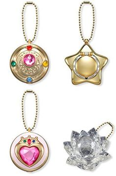 Sailor Moon The Transformation Brooch Makeup Jewelry Earings Box Storage Case