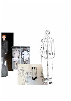 Fashion Sketchbook - fashion design portfolio, fashion illustration & research // Lowri Edwards
