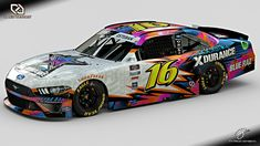 Rockstar Energy Drinks, Paint Schemes, Nascar, Diecast, Something To Do, Ford Mustang, Creativity, Racing, Adidas