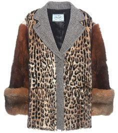 Prada Fur Coat For Spring-Summer 2017