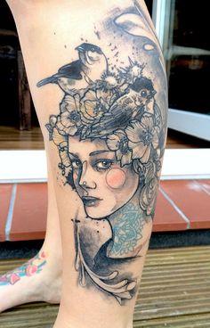 "ankimichler: ""Tattoo by Anki Michler """