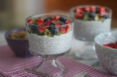 Chia Seed Breakfast Pudding...the BEST chia seed pudding! #glutenfree