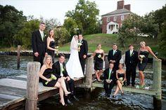historic londontown and gardens -- wedding reception