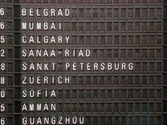 Frankfurt Airport signage