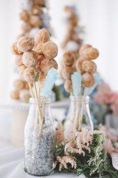 Wedding reception dessert idea; Featured Photographer: OLLI STUDIO