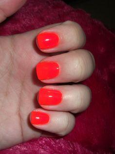 China Glaze Orange Knockout (neon)