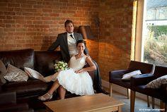 Sarah and Martin's real life wedding at Bassmead Manor Barns - i-d Image Development English Heritage, October 2014, Barns, Real Weddings, Rustic Wedding, Real Life, Wedding Venues, Romance, Wedding Dresses
