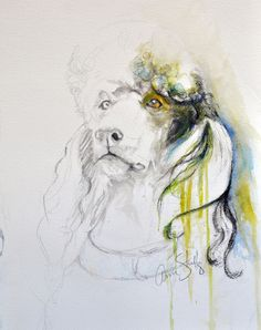 "8"" x 10"" Standard Poodle Art Prints"