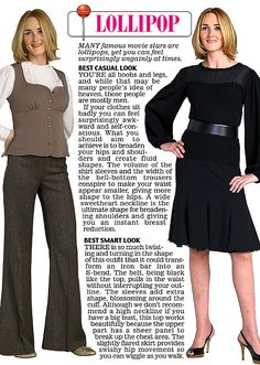 Trinny and Susannah show off the clothes to suit their 12 women's body types Office Fashion Women, Womens Fashion For Work, Girl Fashion, Body Shape Guide, Types Of Dresses, Fashion Advice, Fashion Styles, Body Shapes, Female Bodies