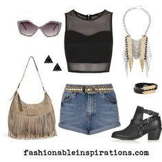 Festival Outfit   fashionableinspirations
