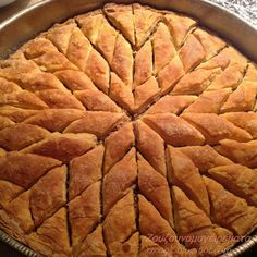 Greek Sweets, Greek Desserts, Greek Recipes, The Kitchen Food Network, Pavlova, Confectionery, Food Network Recipes, Apple Pie, Food And Drink