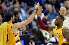 The Cleveland Cavaliers finally look frightening in win over...: The Cleveland Cavaliers finally look frightening in win over Spurs…