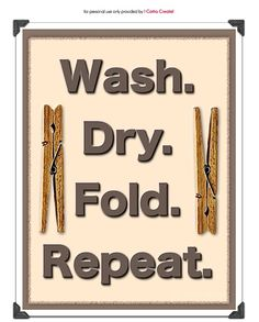 Best website for DIY projects, crafts, recipes, gift ideas, tutorials and more! Inspiring your inner creative superstar daily. Laundry Signs, Laundry Hacks, Laundry Rooms, Laundry Art, Free Printable Art, Free Printables, Laundry Room Printables, Cleaners Homemade, Home Decor Furniture