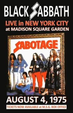 BLACK-SABBATH-REPLICA-MADISON-SQUARE-GARDEN-1975-CONCERT-POSTER
