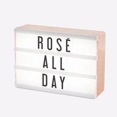Make your own personal statement with this miniature rose gold cinema lightbox. Backlit with white LED, this lightbox is a great way to add a pop to your space. Includes 100 letters, numbers, character and symbol tiles. Room Decor Bedroom Rose Gold, Rose Gold Rooms, Rose Gold Decor, Room Ideas Bedroom, Rose Gold Bedroom Accessories, Cute Room Decor, Teen Room Decor, Teen Bedroom Designs, Aesthetic Room Decor