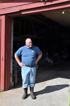 Farmer John (Beekman Boys) in Sharon Springs, NY.