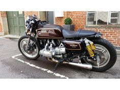 Honda Goldwing GL1000 Cafe Racer billede 1
