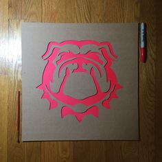 GO DAWGS! Shorten painting time with Stencil Stop's University of Georgia…
