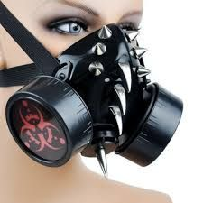 Afbeeldingsresultaat voor steampunk mask creepy
