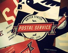 I might mail more letters if the post office rebranded like this.