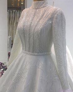 Muslimah Wedding Dress, Muslim Wedding Dresses, Muslim Brides, Wedding Bridesmaid Dresses, Bridal Dresses, Wedding Gown A Line, Wedding Gowns, Designer Gowns, Marie