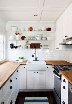 100+ Small Scandinavian Kitchen Design (68)
