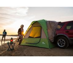 Napier Backroads SUV Truck Tent  sc 1 st  Pinterest & Transform your SUV into a wilderness getaway with the Napier ...