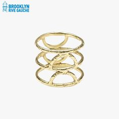 Bague Crescent Spine - @odetteny #Tendance #LeDressing #Dressing #Brooklyn #fashion #mode #bijoux #jwels #joaillerie #jewelry #Bk #USA #BrooklynRiveGauche