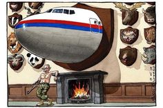 Today's @BrookesTimes cartoon: Putin's deathly tally in Ukraine #MH17 pic.twitter.com/aW8XbLLCAN